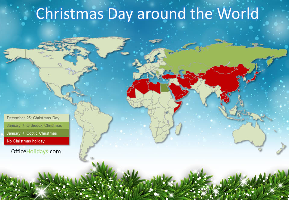 Christmas Date Around the World | X-culture